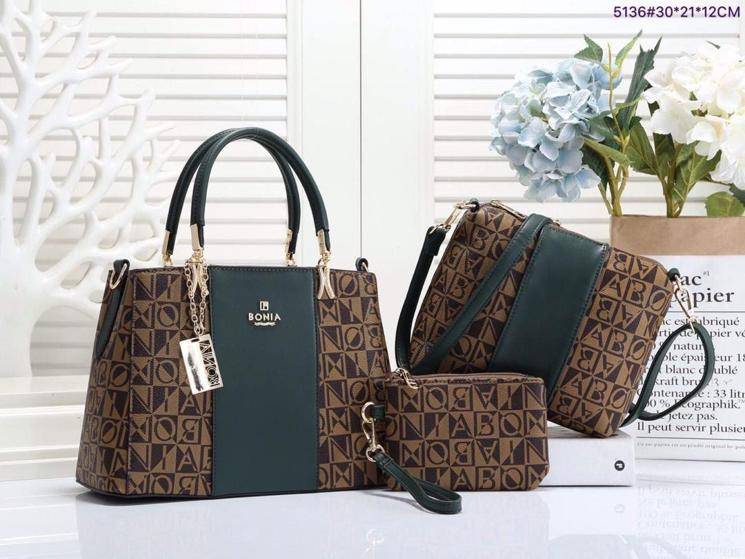 Elegant Handbag 3 In 1 Bonia Ipams